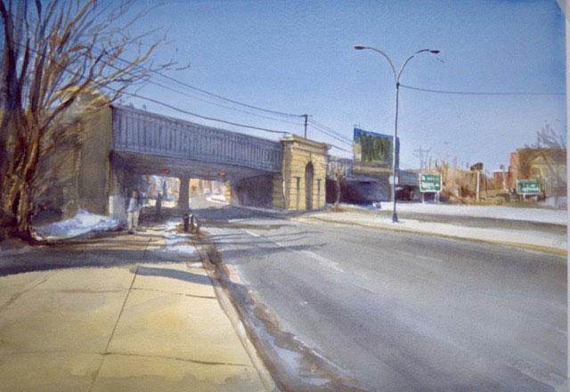 Sunday Morning on the Blvd by Doug Jamieson