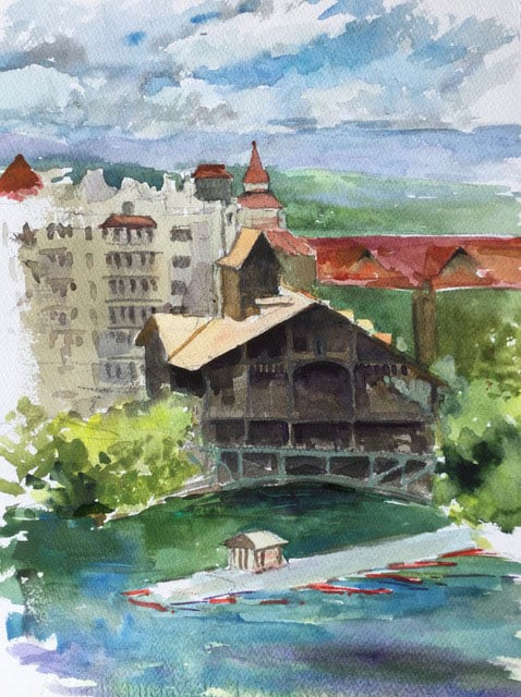 Mohonk Mountain House by Elissa Gore
