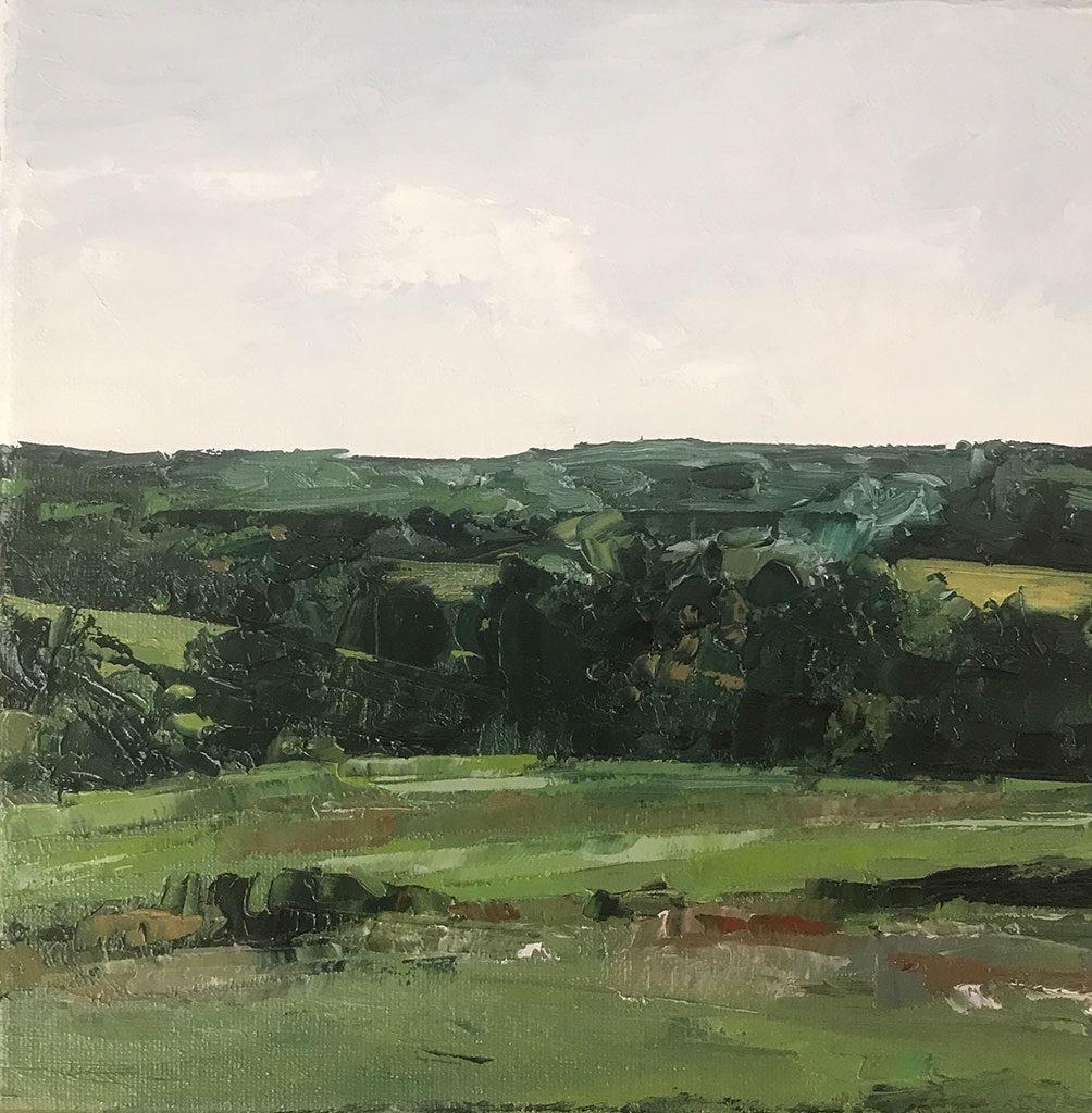 Fields in Summer, Treadwell, NY by Lauren Wallis Hall