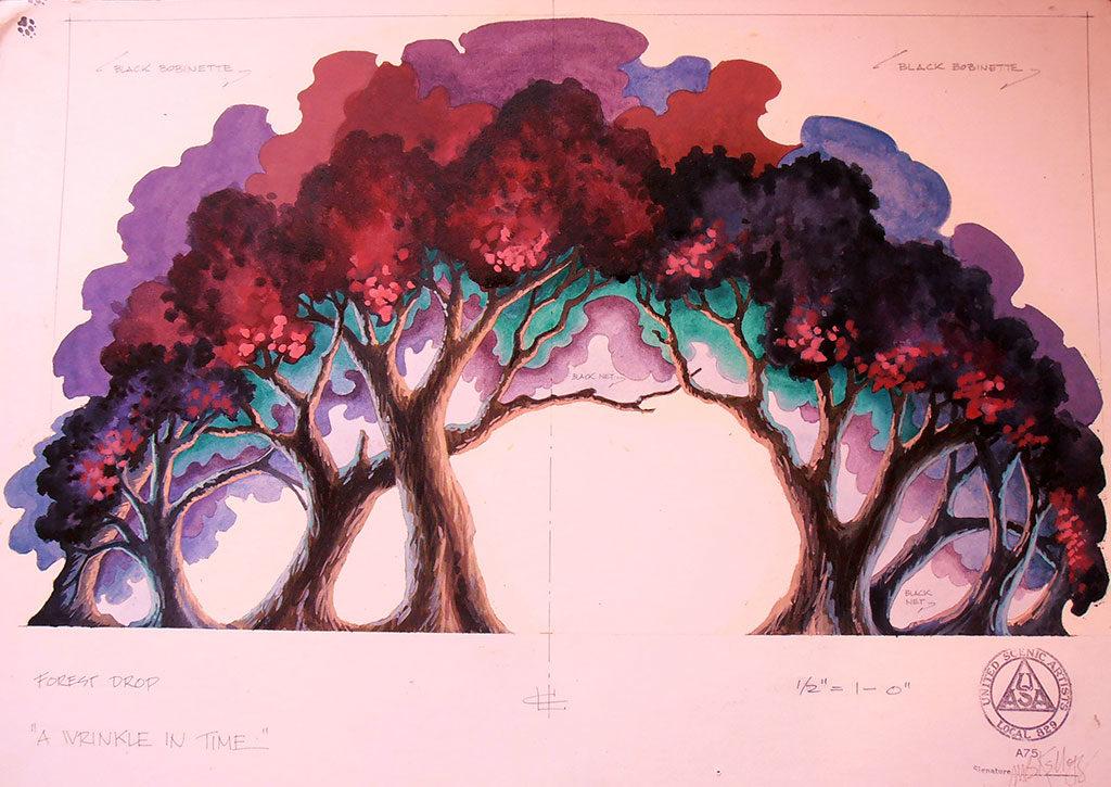 A Wrinkle in Time, tree portal by Marjorie Bradley Kellogg