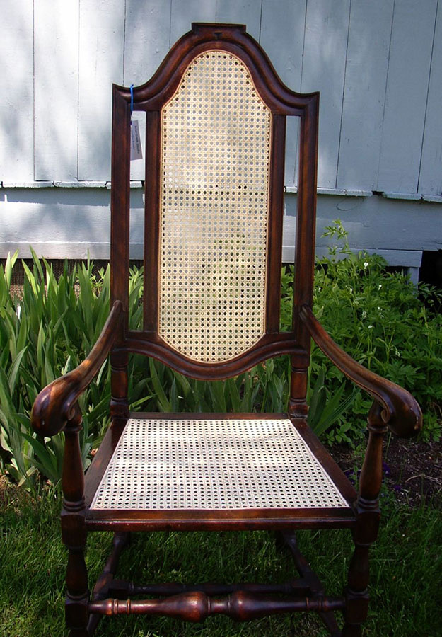 Caned Seat by Martha Bremer