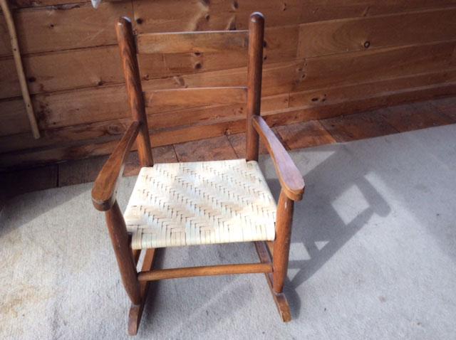 Splint Seat by Martha Bremer