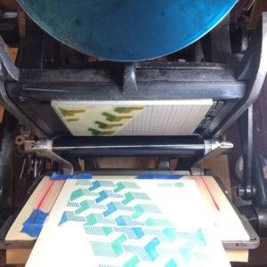 Letterpress at Blue Farm Antiques & Letterpress Printing