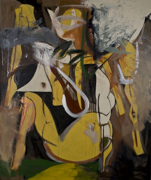 Untitled (Abstract Figure) by Terry Fox