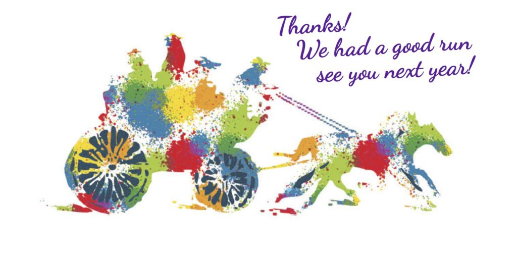 Thanks to the artists, supporters and visitors to the Stagecoach Run Art Festival this year!